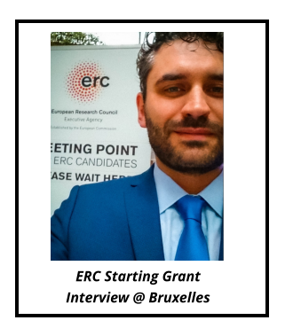 ERC Starting Grant Interview @ Bruxelles
